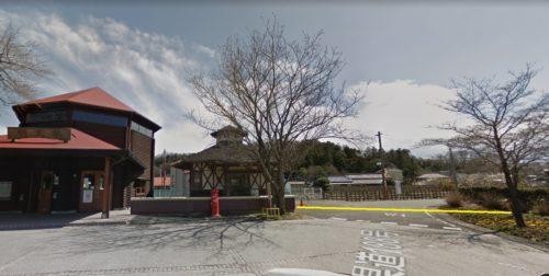 明覚駅南側離れの木造建物の南角