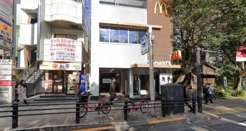 赤坂駅 マクドナルド