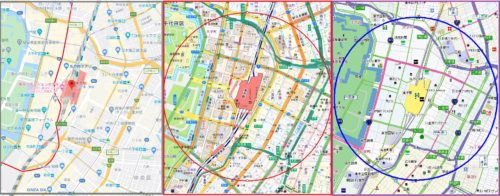 地図 グーグルマップ スーパーマップルデジタル 電子地図帳Zi