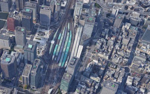 東京駅 駅前ロータリー