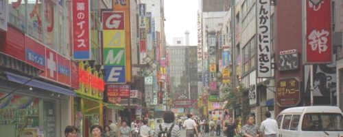 視界融合 商店街